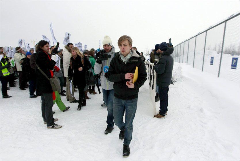 VIL BLI MED: Eivind Trædal, kjæresten til Maria Amelie, vil være med henne til Russland dersom hun blir sendt tilbake dit. Foto: Scanpix