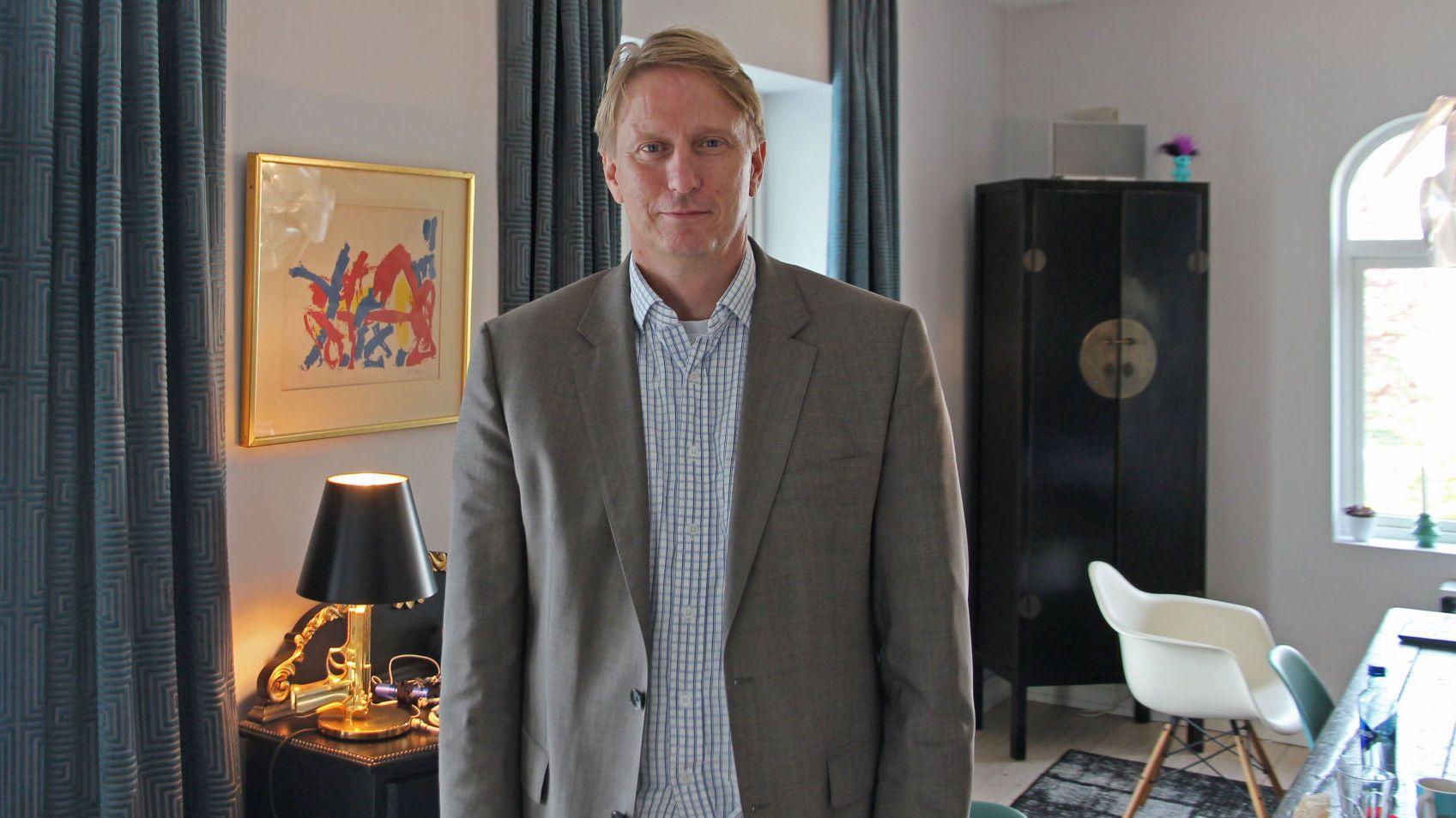 SATSER: Gisle Pedersen, sjef for Canal Digital (Kabel-TV), kniver nå med de rene fiberaktørene om hvem som kan levere raskest bredbånd hjemme.