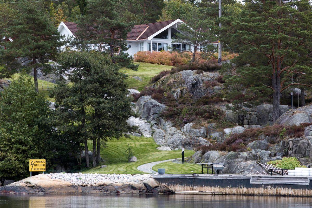 HYTTELUKSUS: Ole Robert Reitan har hytte på Sauøya i Kragerø. Reitan kjøpte hytta i 2008 for 14,5 millioner kroner.