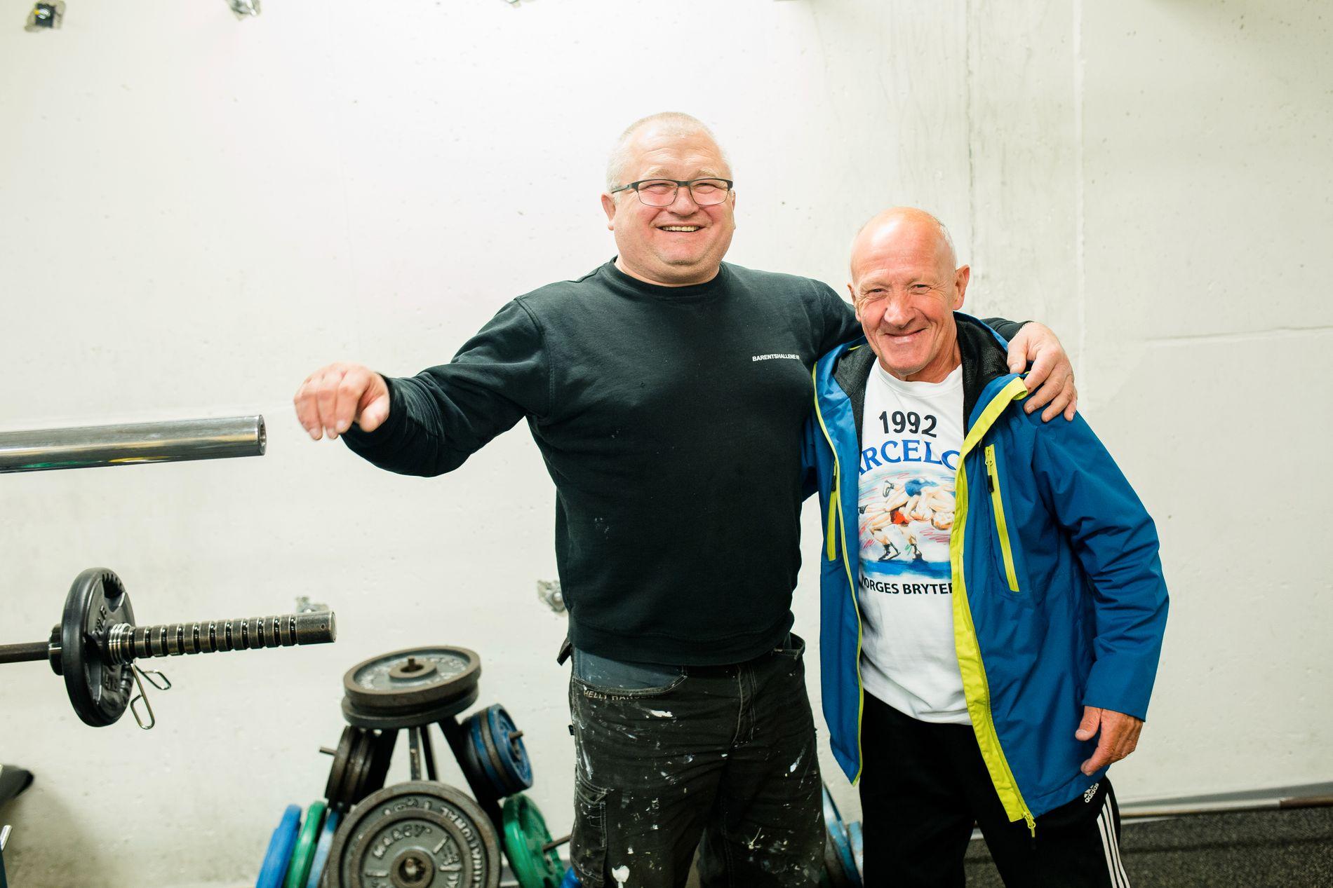 HOLDER GODT OM HVERANDRE: Russiske Sergei og norske Willy har kjent hverandre siden Den kalde krigen.
