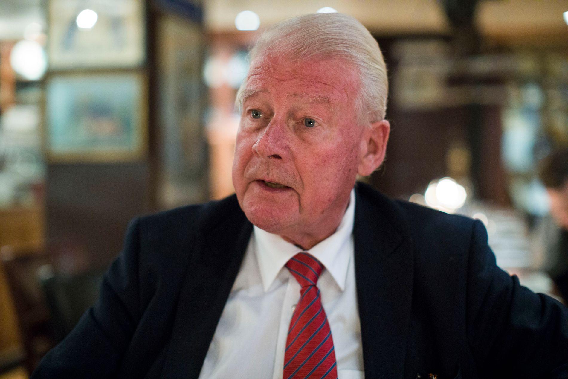 STØTTER: Carl I. Hagen (74) deler ikke skepsisen til Sverigedemokraterna.