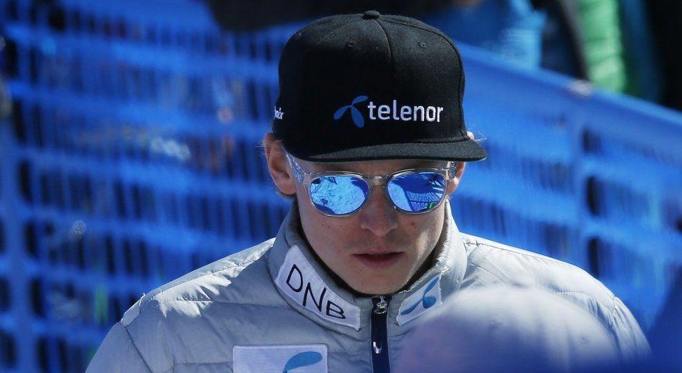 SAKSØKER FORBUNDET: Henrik Kristoffersen her avbildet under verdenscupavslutningen i St. Moritz i Sveits i mars.