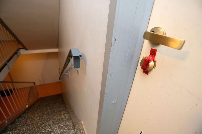 ÅSTEDET: En mann ble i midten av september 2013 funnet død i en leilighet på Ravnåsen på Gulset i Skien.