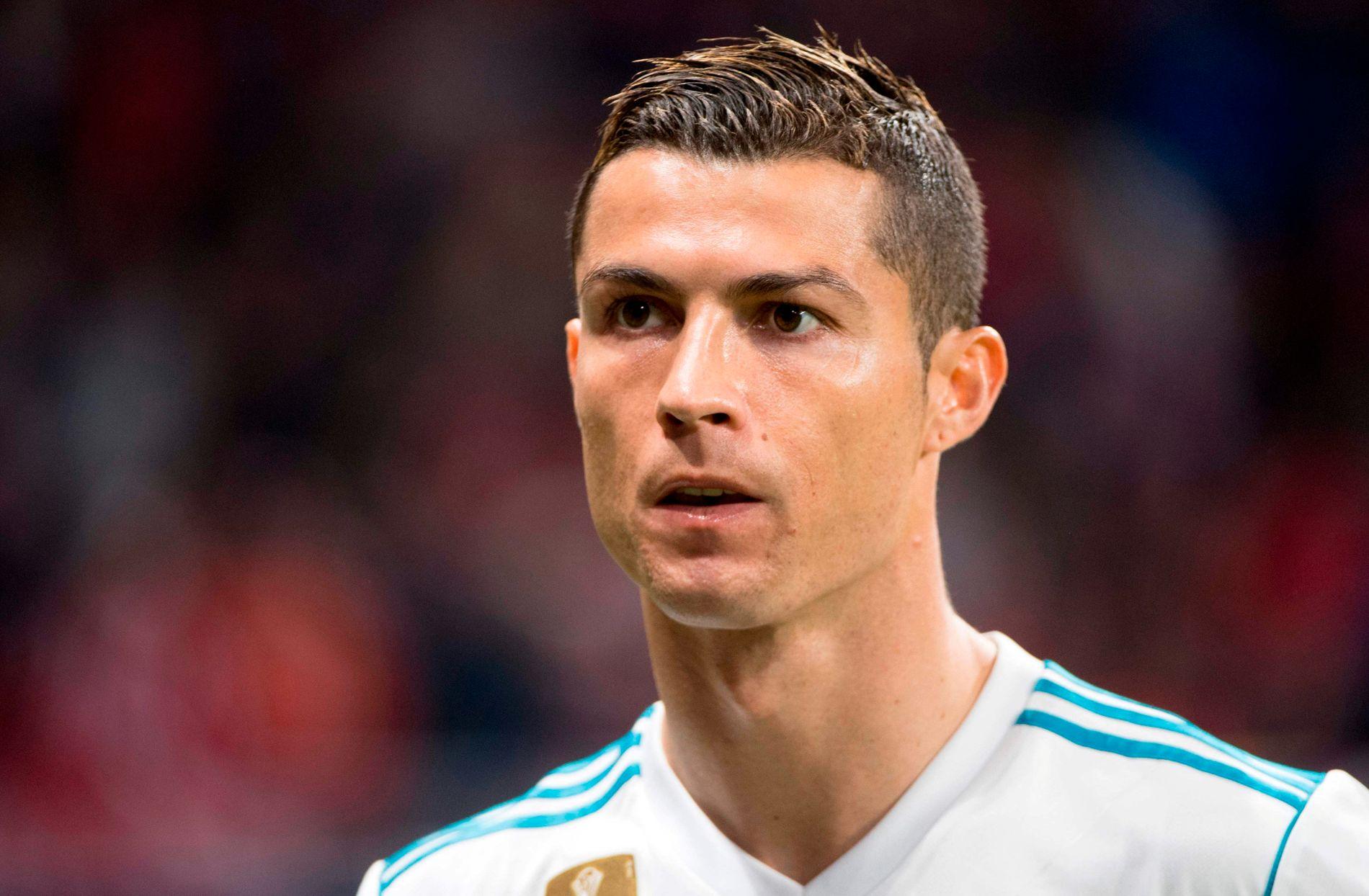 MÅLTØRKE: Cristiano Ronaldo, her under 0-0-kampen mot Atlético Madrid lørdag, har bare scoret ett mål i La Liga denne sesongen.