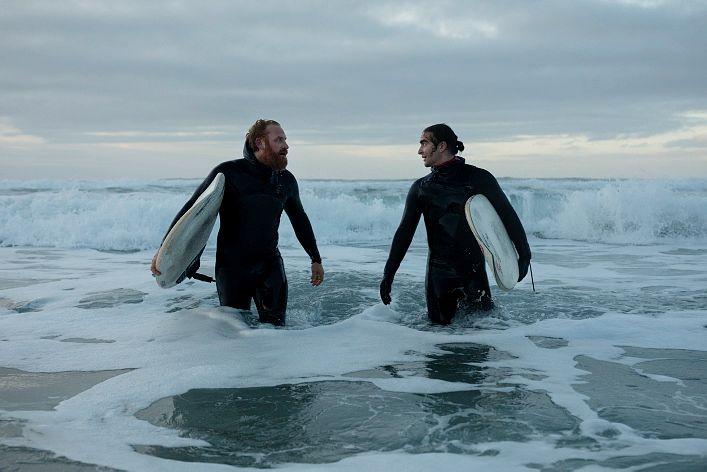 TVILLINGSJELER: Kristofer Hivju og Marlon Langeland i «Twin»