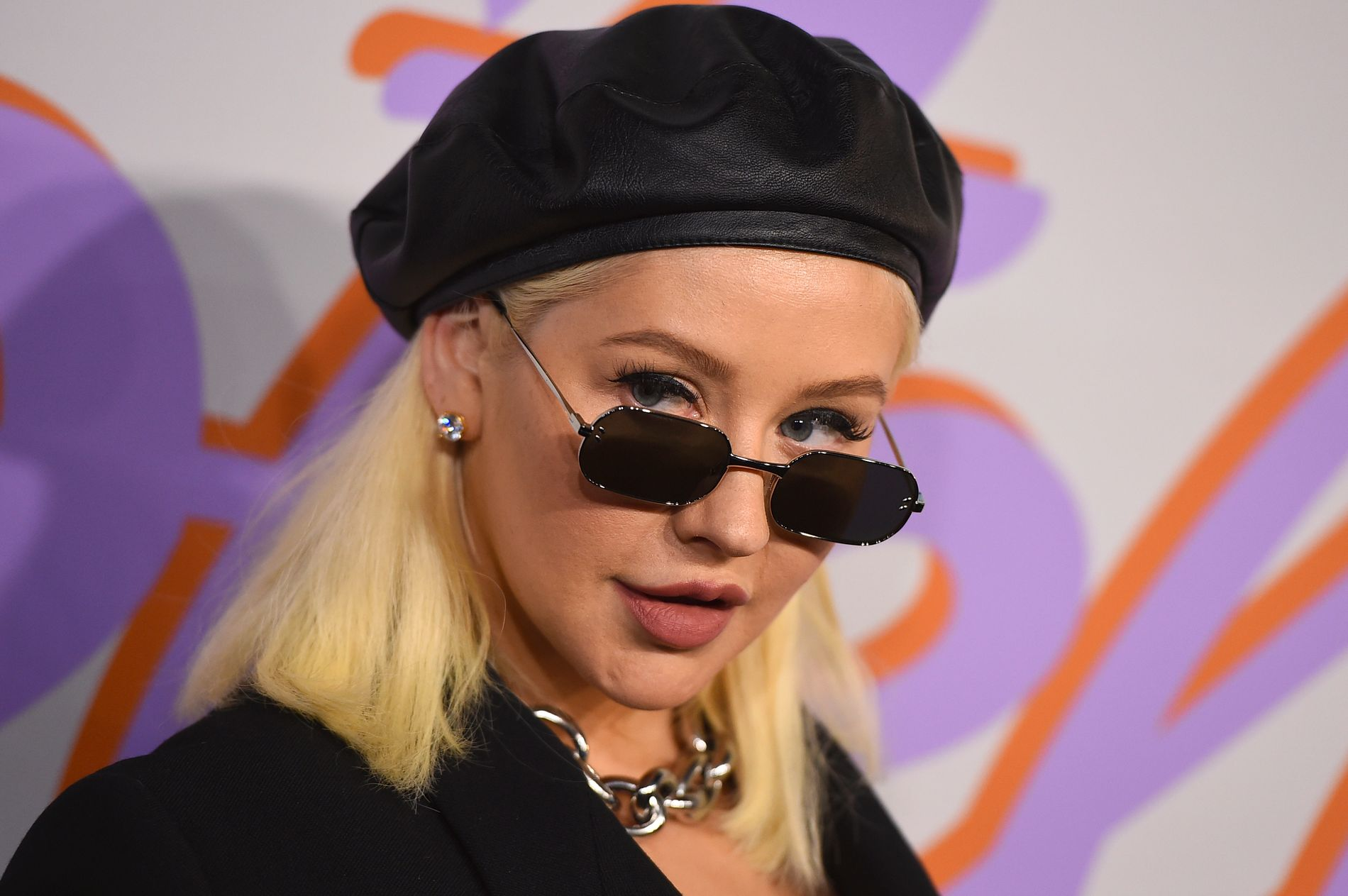 NATURLIG: Christina Aguilera, her på motevisning i Los Angeles i januar, gjennomgår et stilskifte.