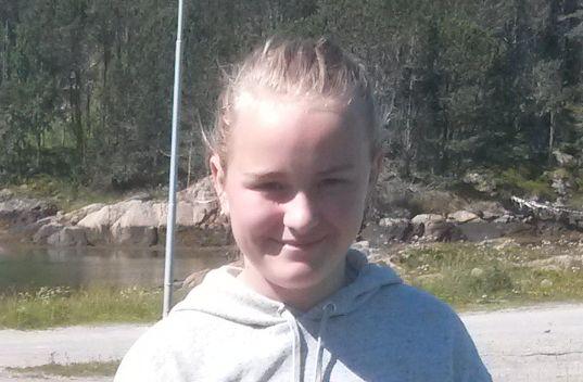 DREPT: Sunniva Ødegård ble bare 13 år.
