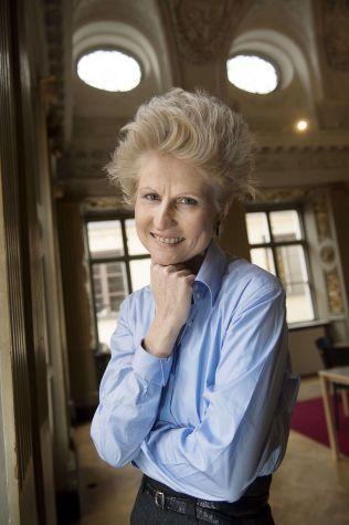STOLT: Den svenske politikeren Anna Maria Corazza Bildt er fornøyd med å  være på svartelista til russerne.