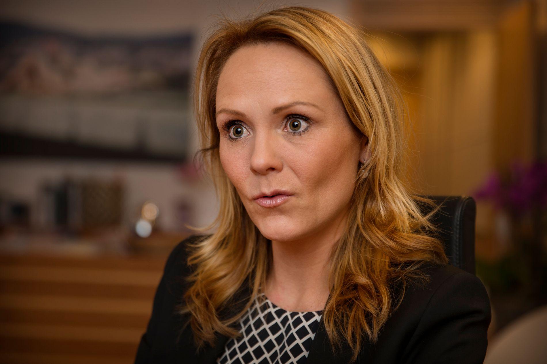 REAGERER: Kulturministeren Linda Hofstad Helleland (H) mener ansettelsen av Hasic er uklok. FOTO: MATTIS SANDBLAD, VG