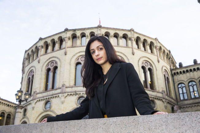 VET HVA HUN VIL: Hadia Tajik sier hun ikke lar trusler og hatmeldinger påvirke følelseslivet sitt, og konsentrerer seg om jobben som leder for justiskomiteen på Stortinget.