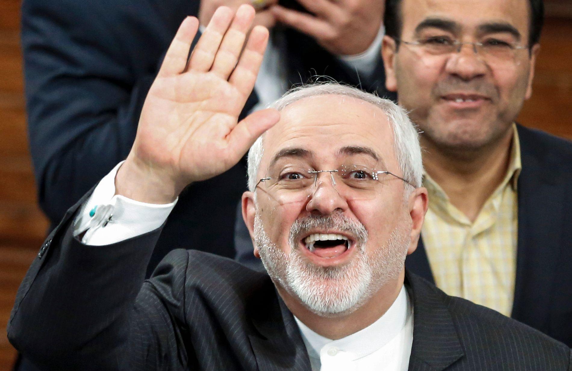 FAVORITT: Nok et år er iranske utenriksministeren Javad Zarifs arbeid med atomvåpenavtalen, sammen med andre utenrikstopper, blant favorittene til Nobels fredspris.