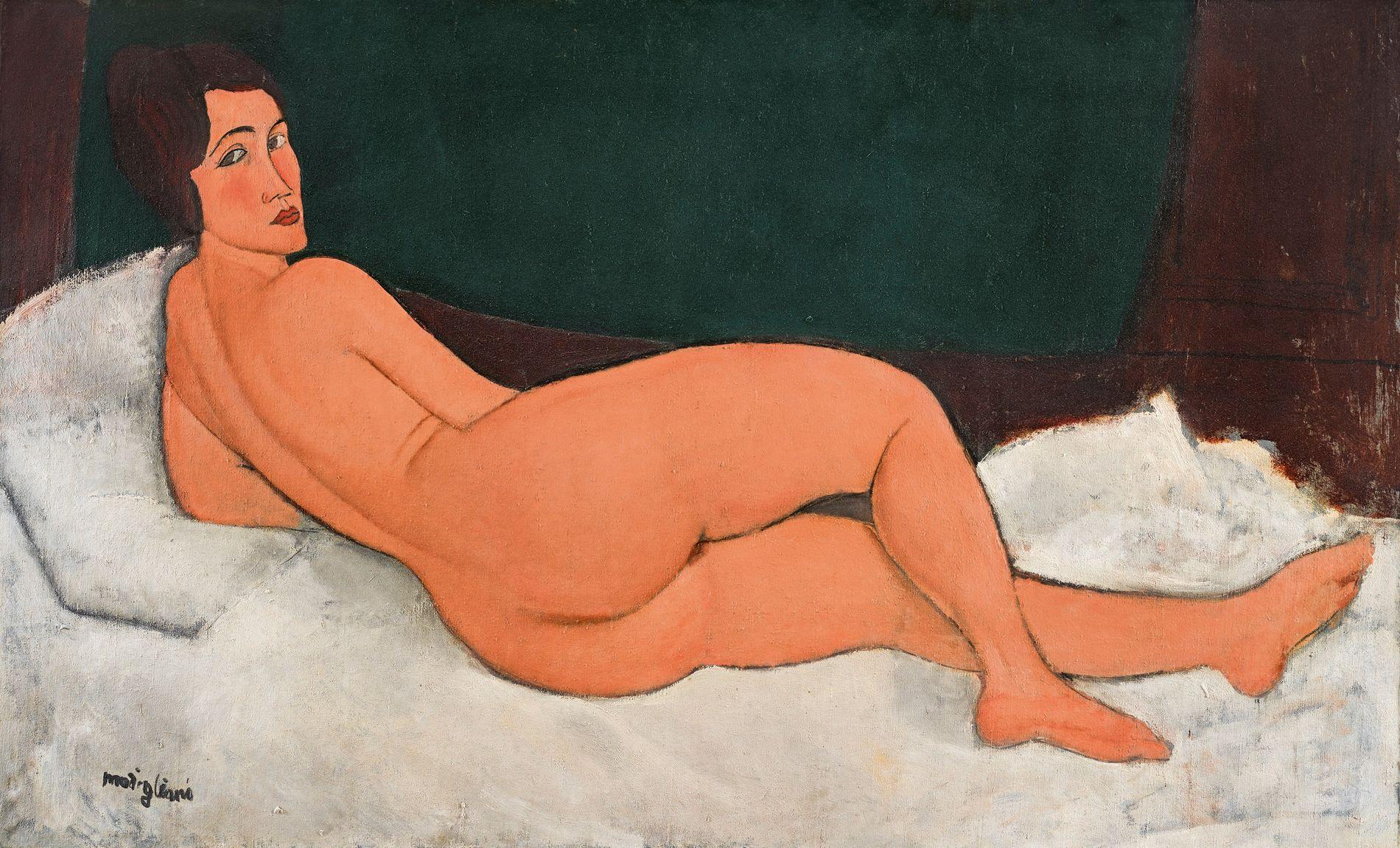 IKKE GRATIS! «Nu couché (sur le côté gauche)» av Modigliani er blitt solgt for nesten 1,3 milliarder kroner.
