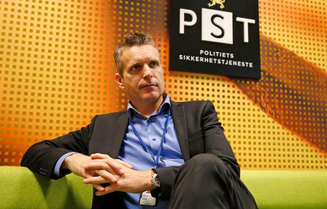 HAR ANSVARET: Seksjonssjef i PST Erik Haugland leder enheten som har ansvaret for å følge opp bekymringsmeldinger om asylsøkere.