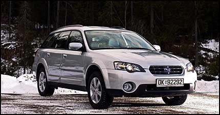 Test Av Subaru Outback Lett På Foten