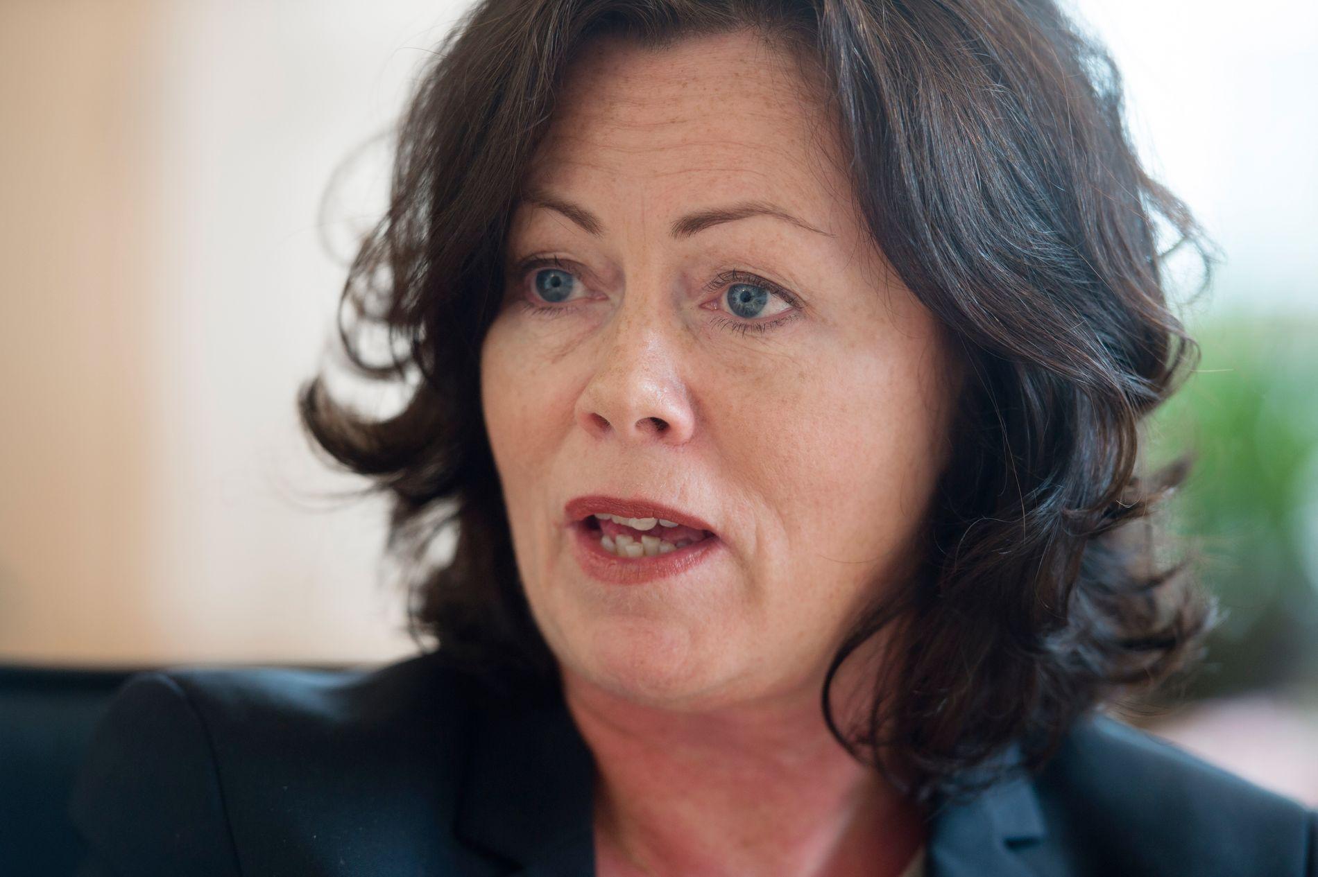 BEST FOR BARNA: Barne- og likestillingsminister Solveig Horne mener det nye lovforslaget sikrer rettsvernet til barn mot vold og overgrep.