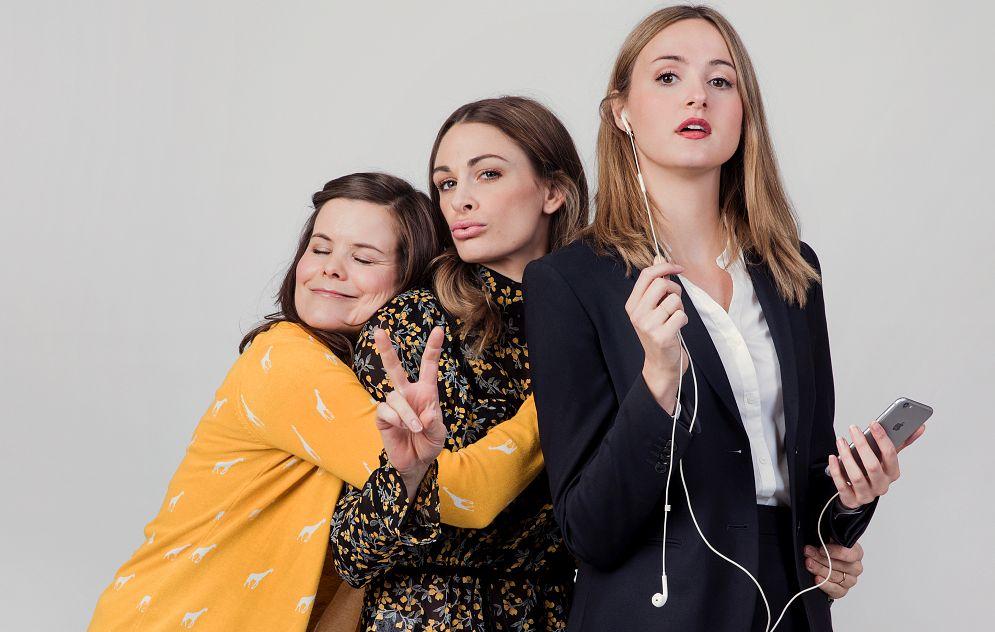 INGEN SUKSESS: I «Nesten voksen» på NRK hadde Kjersti Tveterås rollen som Ida, mens Jenny Skavlan spilte Camilla og Renate Reinsve Siri. I serien ble de tre kjent på folkehøyskolen, og måte takle det plutselige voksenlivet.