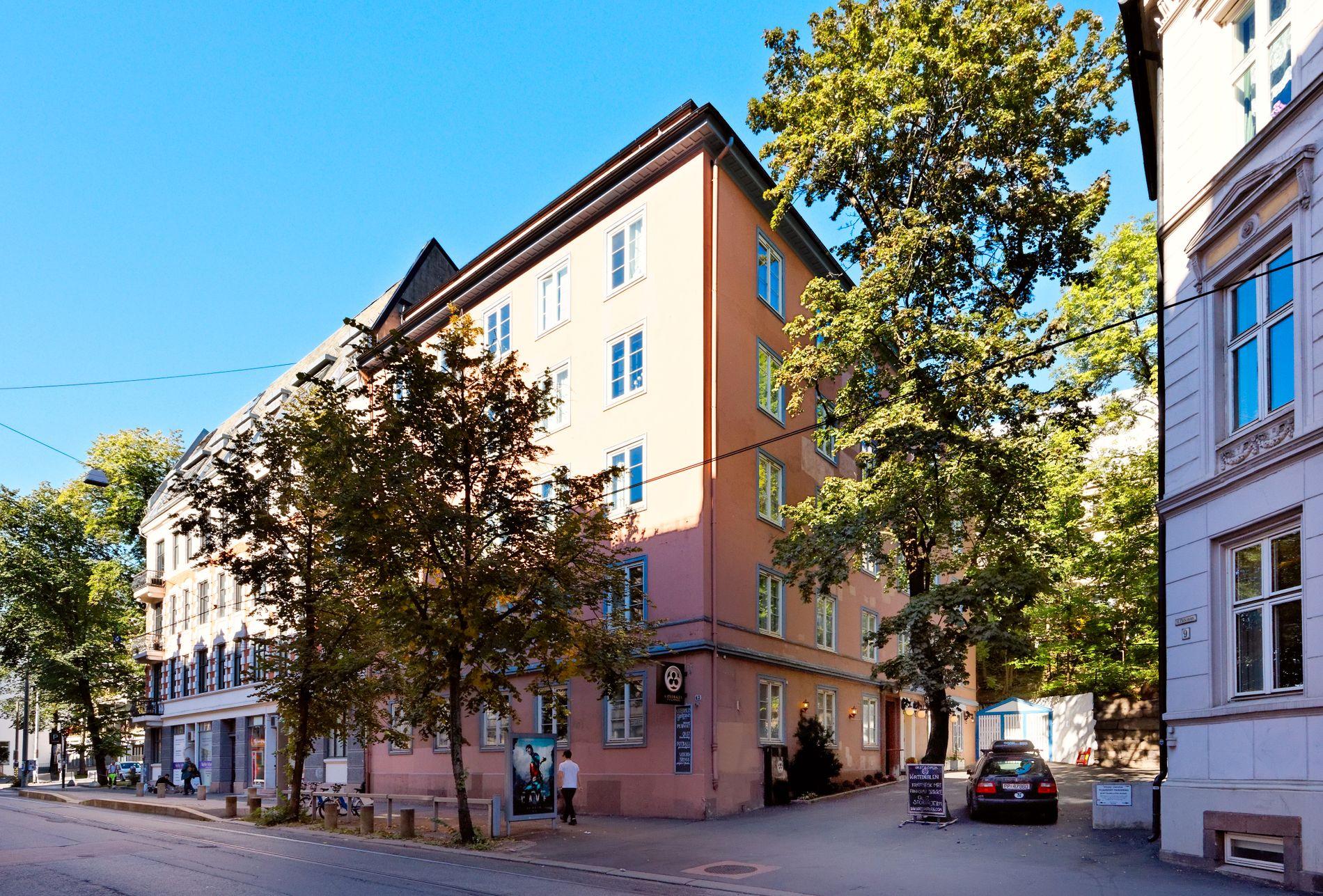 OSLO VEST: Kjøperen måtte ut med nesten 100.000 kroner per kvadratmeter for Søreides leilighet i Parkveien.