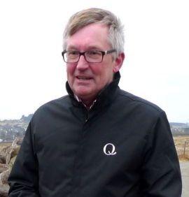 GIKK PÅ EN SMELL I RETTEN: Direktør Bent Myrdahl i Q-meieriene.