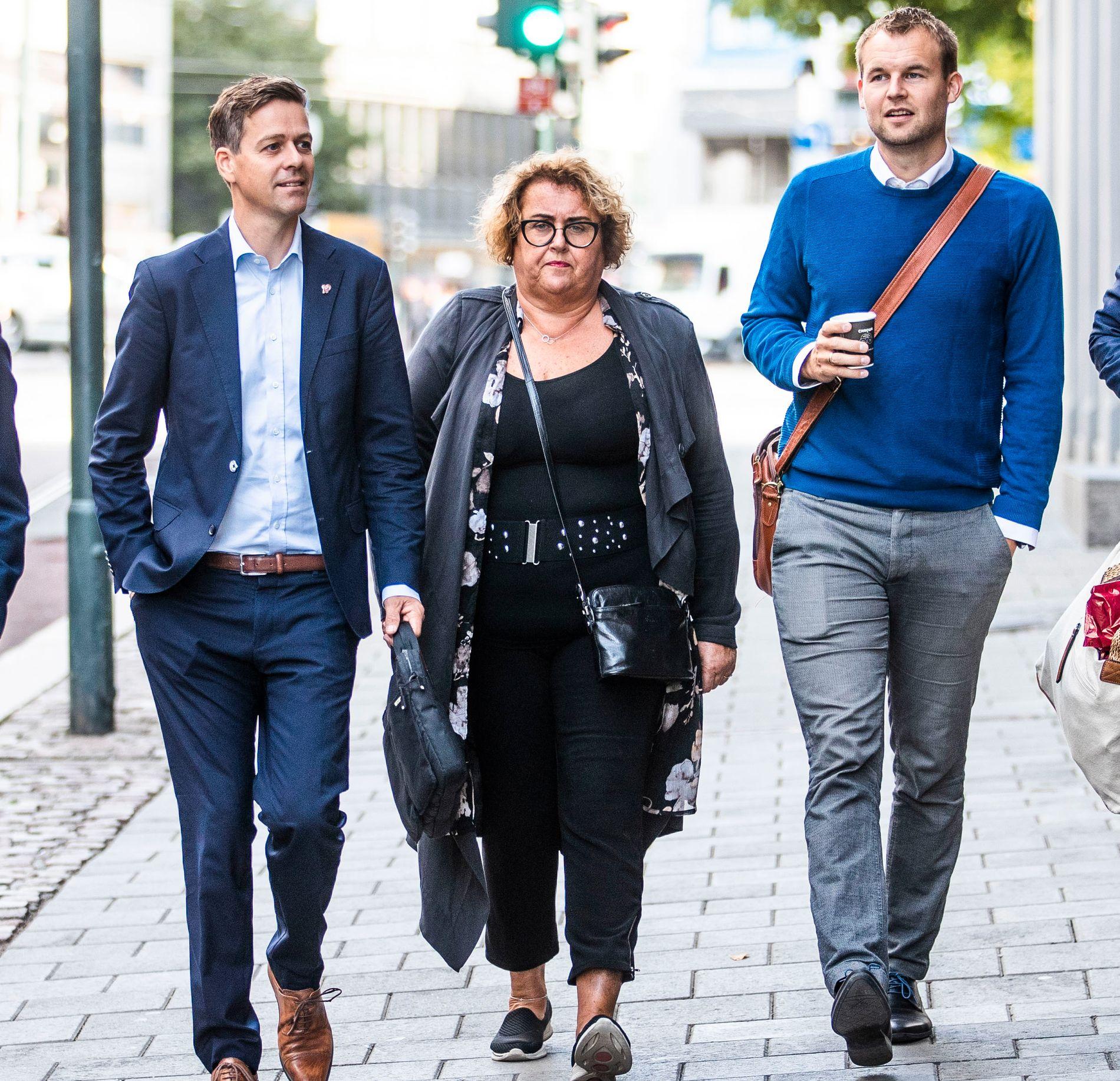 GÅR IKKE I PARADE: Hverken eksleder Knut Arild Hareide eller KrF-lederduoen Olaug Bollestad og Kjell Ingolf Ropstad blir å finne i Pride-paraden lørdag.