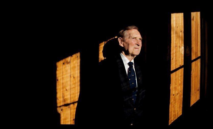 HVORDAN SKAL HEDERSMANNEN HEDRES?: Gunnar Kjakan Sønsteby er Norges høyest dekorerte borger gjennom tidene. Men hvordan skal han hedres og huskes for fremtiden? VG vil ha dine forslag! Foto: KARIN BEATE NØSTERUD