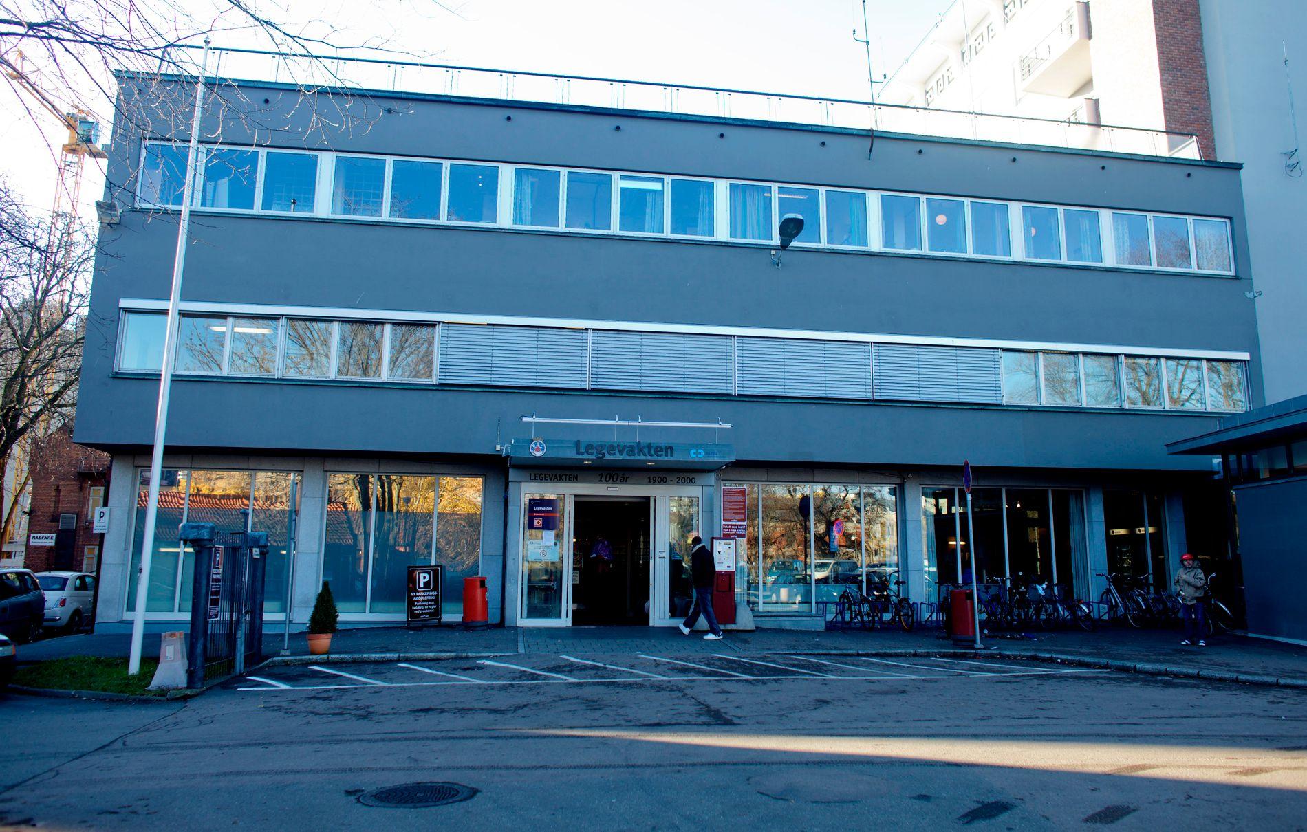 SMITTE: Personen som er smittet av meslinger var blant annet på Legevakta i Oslo tirsdag 12. mars.