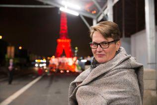 AVLØST: Tine Sundtoft (H) ble onsdag erstattet av partikollega Vidar Helgsen som  klima- og miljøminister. Her er hun fotografert i Paris i helgen.