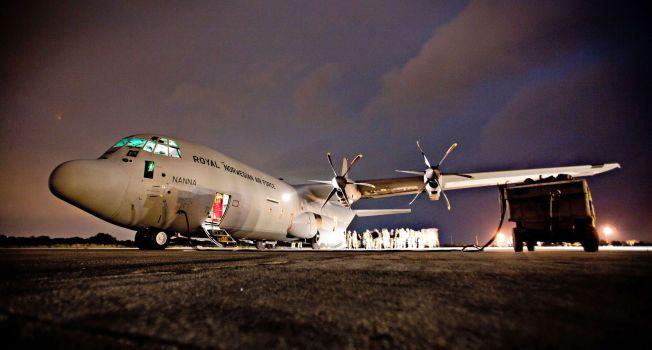 MER TIL MALI?: Her er et norsk C-130 Hercules på Souda-basen i Kreta under den internasjonale militæroperasjonen mot Libya i 2011. I slutten av måneden skal mannskapene fra 335-skvadronene igjen på utenlandsoppdrag, denne gang til FN-styrken MINUSMA i Mali.