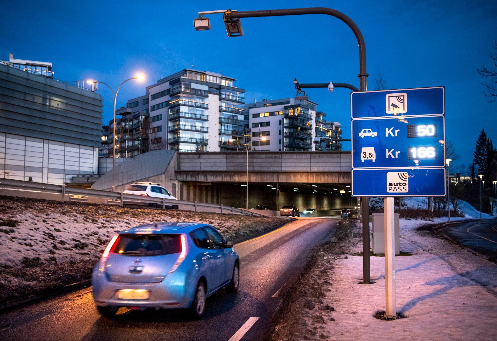 BOMSTASJON: Det skal settes opp flere nye bomstasjoner i Norge i år.