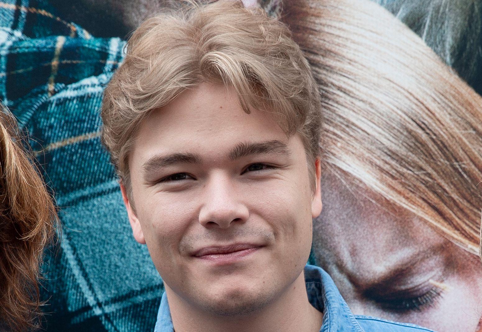 «SKJELVET»-AKTUELL: Jonas Hoff Oftebro spiller i oppfølgeren til katastrofefilmen «Bølgen». Her fra pressemøte under filmfestivalen i Haugesund.