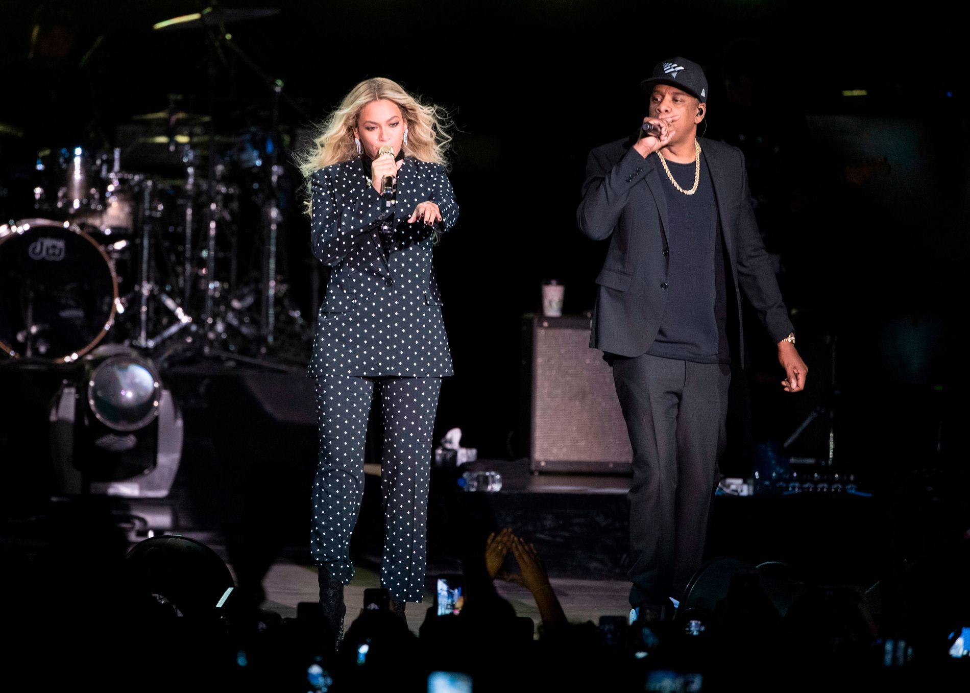 EIERE: Beyoncé og ektemannen Jay Z. Sistnevnte eier strømmeselskapet Tidal og kona er medeier.