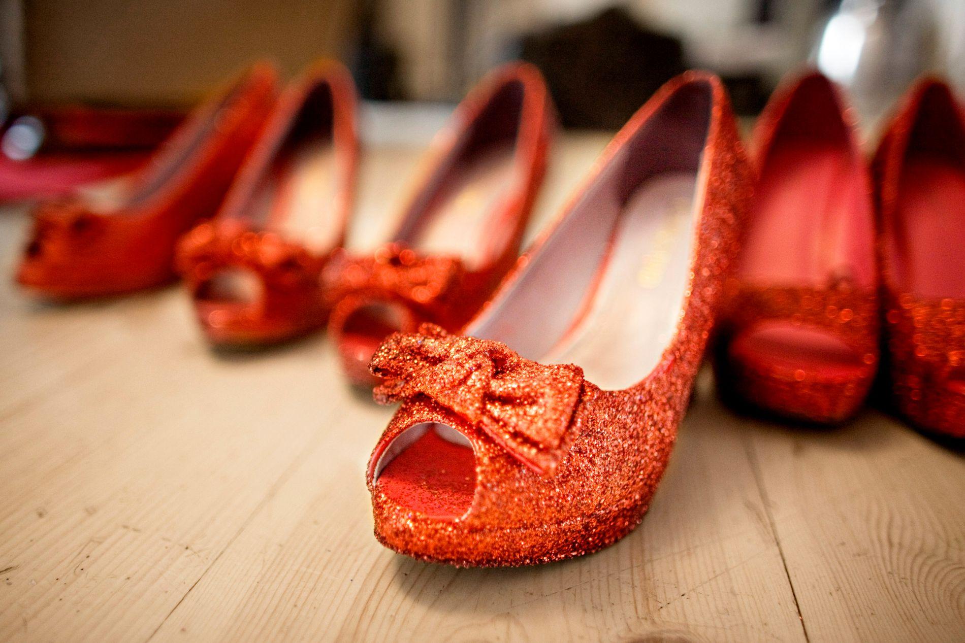 Vakker dag: Nye støvler omsider.