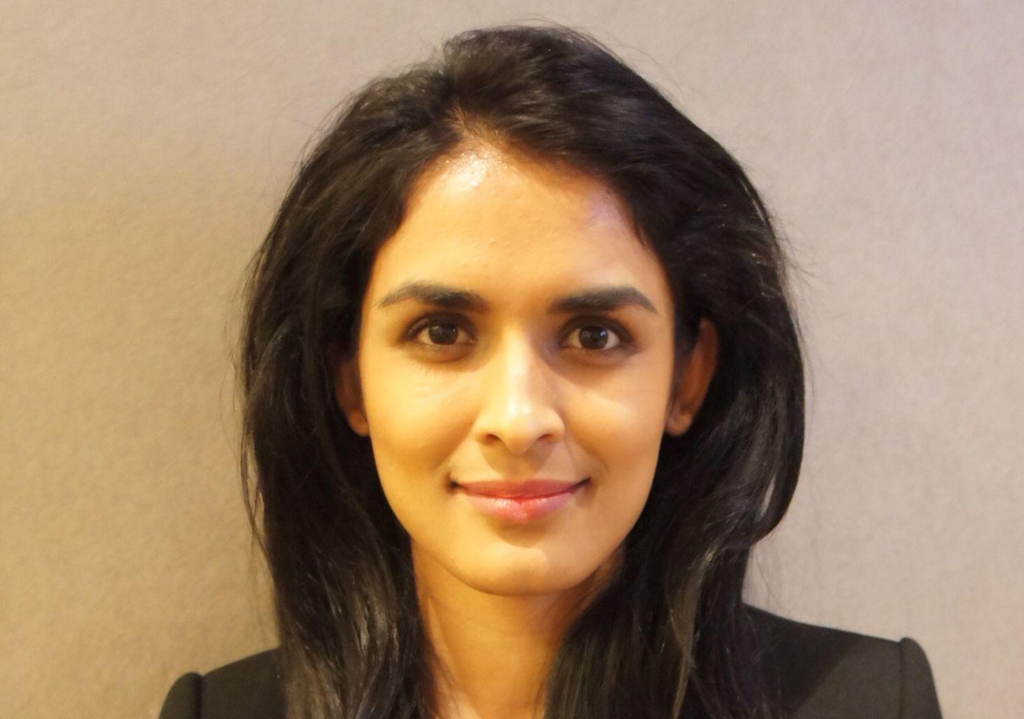 FEIL TALL: Saida R. Begum presenterte feil tall hos NRK i forbindelse med elever som kommer inn på førstevalg av skole.