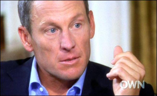 OFFENSIV: Lance Armstrong  er her fotografert i Oprah Winfrey-intervjuet der han først avslørte sin dopingbruk gjennom mange år.