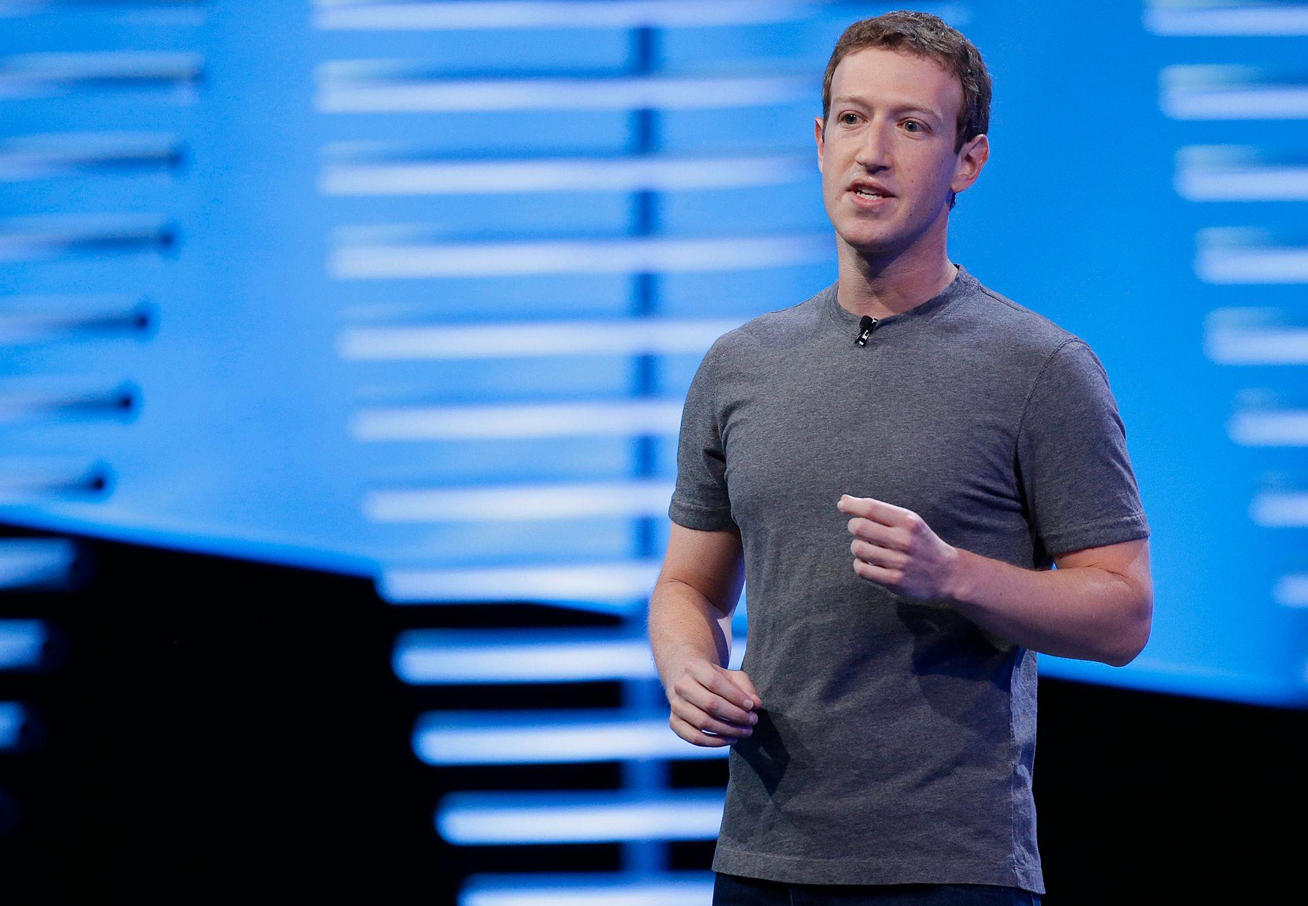I HARDT VÆR: Mark Zuckerberg og hans ansatte har flere ganger i år måttet svare for hvordan de jobber med å forhindre at kriminelle handlinger legges ut eller sendes direkte på Facebook.