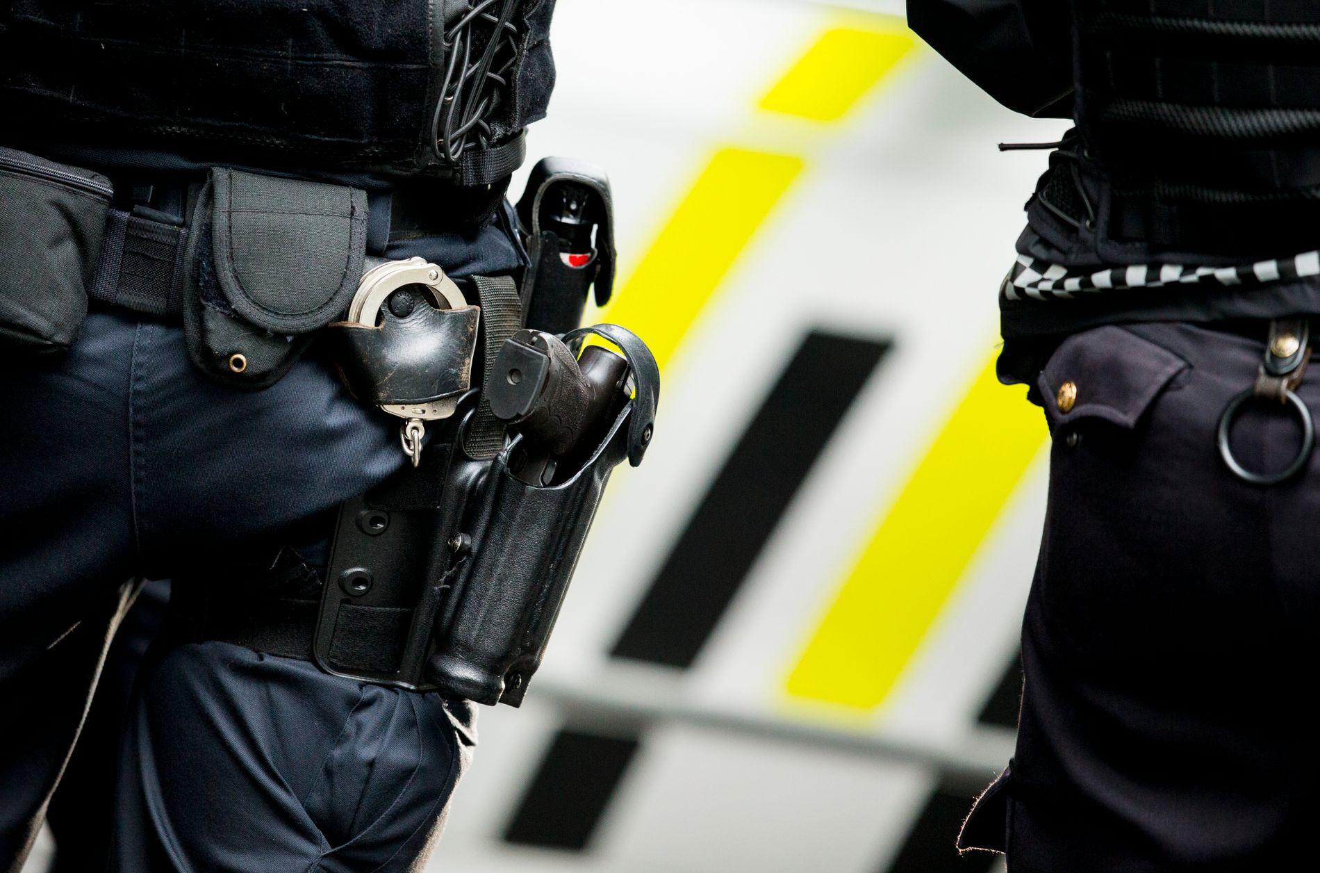 SKJEDDE IGJEN: En politimann avfyrte et vådeskudd på Holmlia i Oslo i begynnelsen av november. Arkivbilde.
