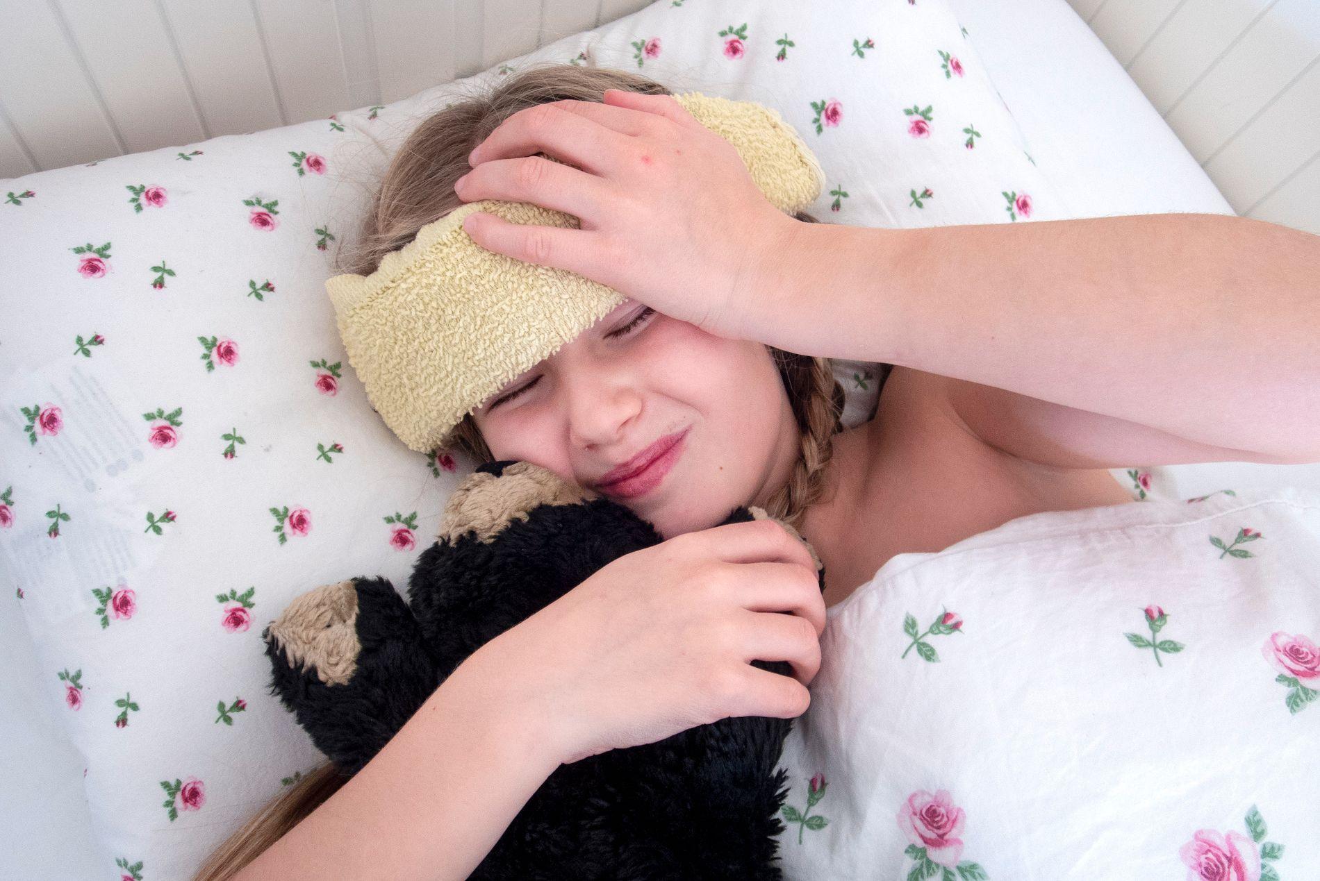 UTSATT: Barn og yrkesaktive er mest utsatte for årets influensa. Flest blir trolig syke i slutten av februar.
