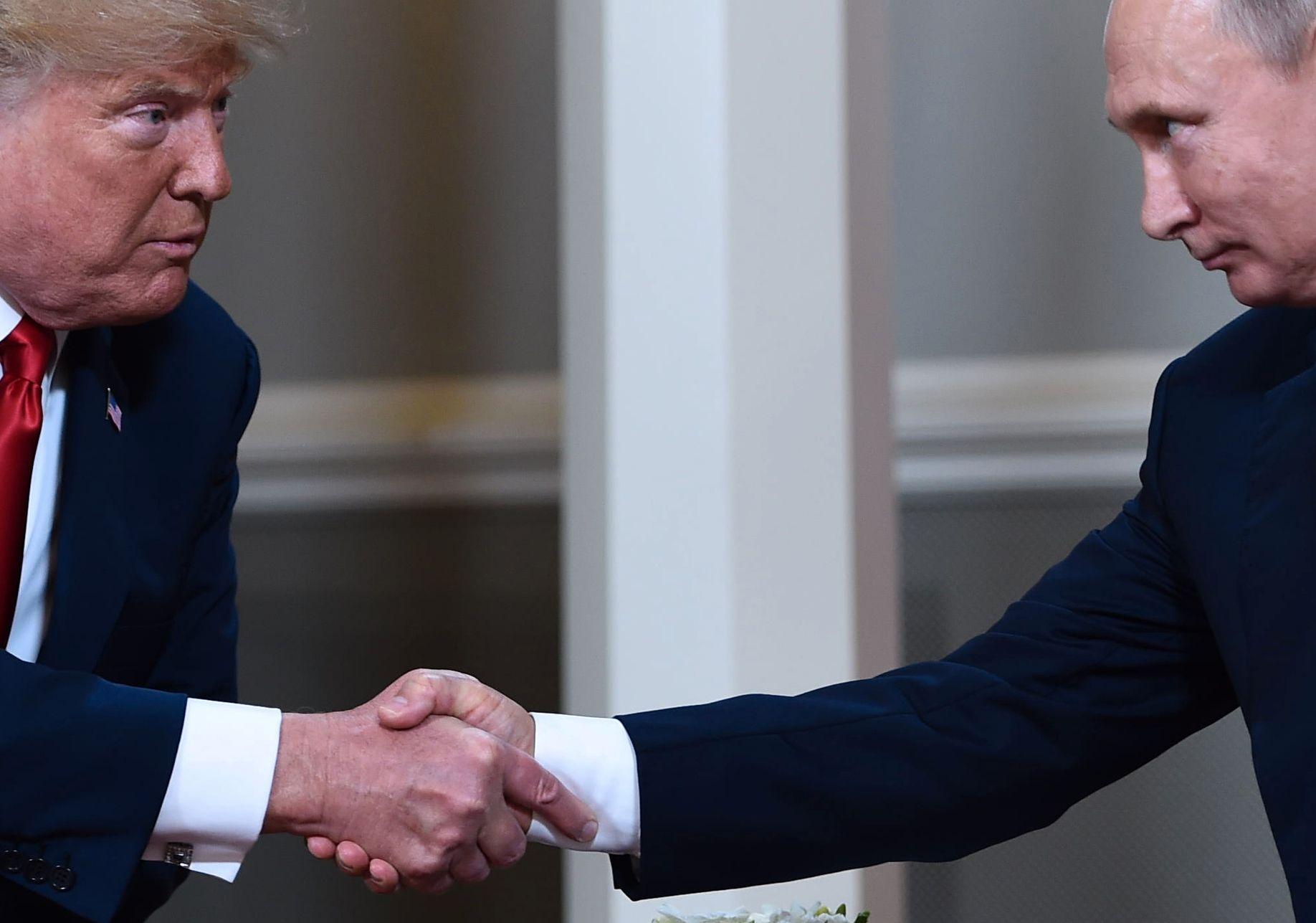 OMSTRIDT MØTE: De to statslederne kom etter sigende svært godt ut av det med hverandre.