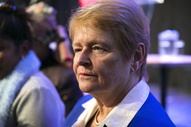 ALT HENGER SAMMEN MED ALT: Gro Harlem Brundtland, her fotografert i 2013, ser nå mange lyspunkter i kampen for å nå togradersmålet.