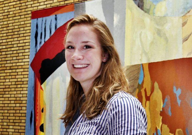 TIL TOPPS: Birgit Skarstein hentet hjem gullet under ro-VM i Amsterdam.