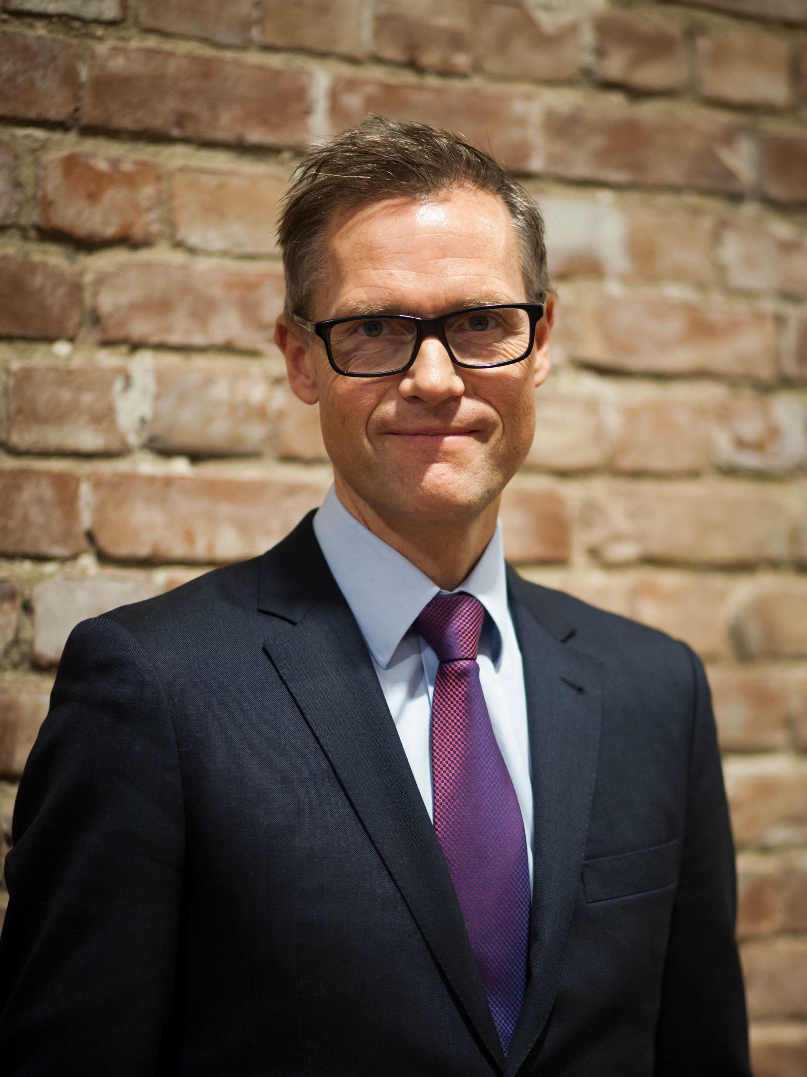 Sjef i Mastercard Norge, Inge Kjønnøy