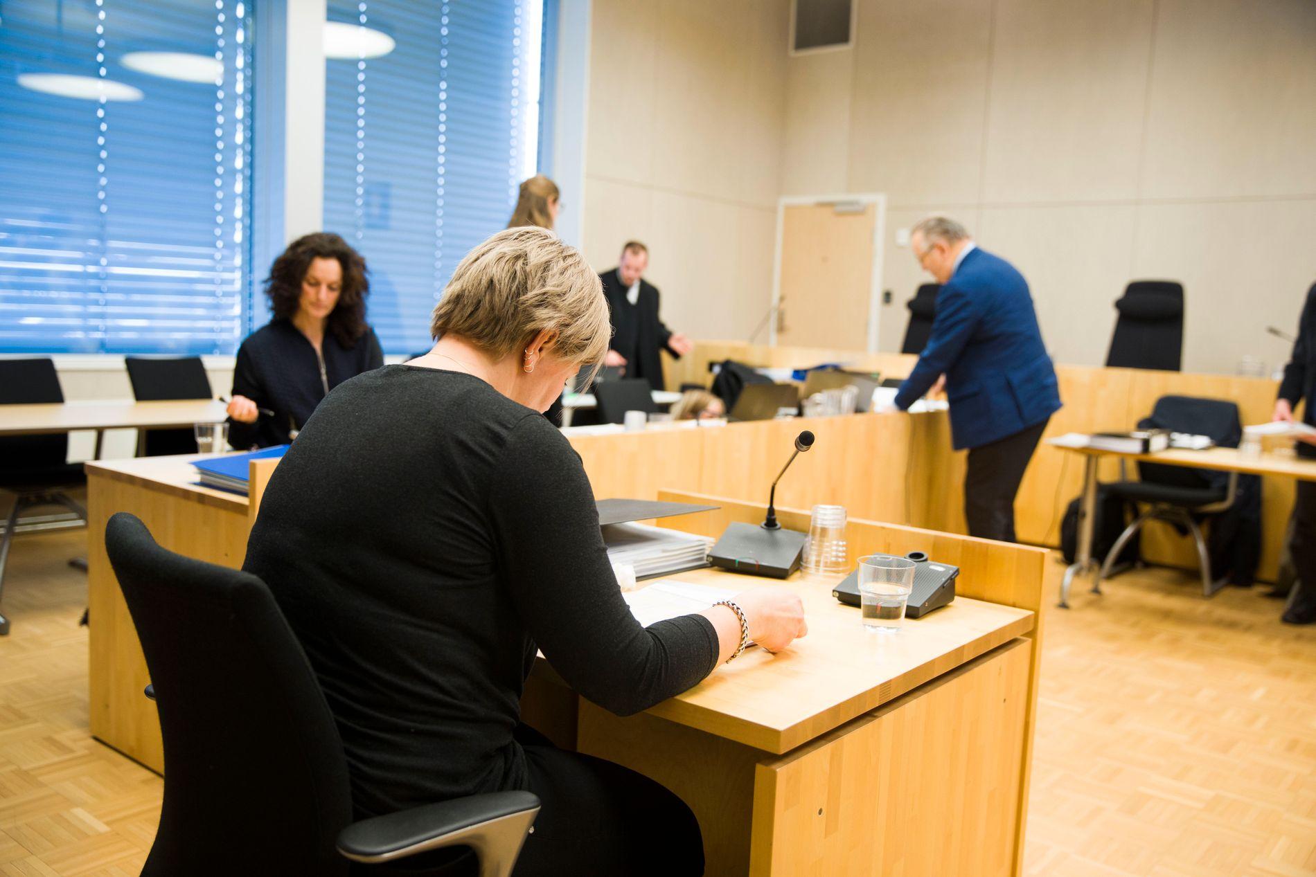 TUNGT: Moren til Martine, Trine Lise Lie, forklarte seg i retten tirsdag.