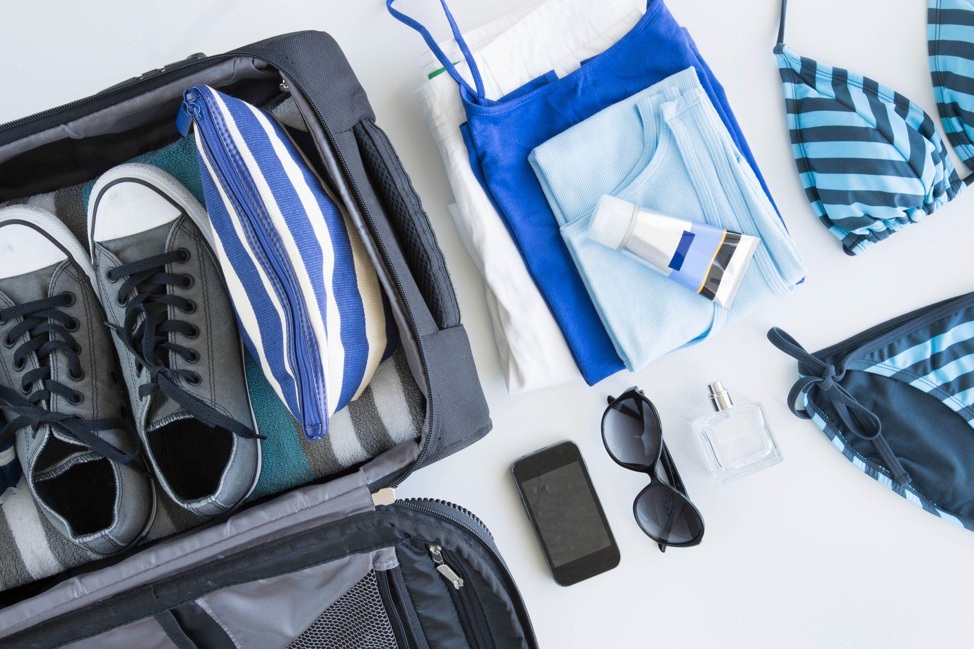 3d290575 UTFORDRING: Reisejournalist Vibeke Montero tipser om hvordan du kan pakke  en ukes ferie i håndbagasjen. Foto: Gary John Norman / Image Source