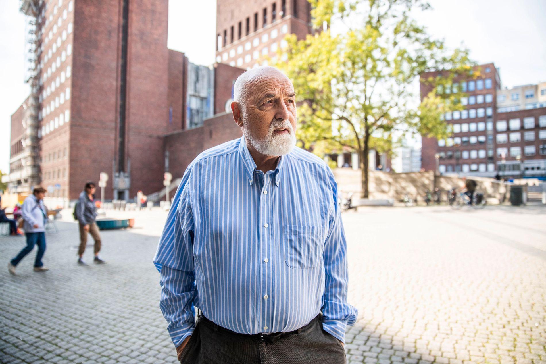 SKUFFET: Hermann Kopp (H) kaller kontrollrutinene i Bymiljøetaten for «fraværende».