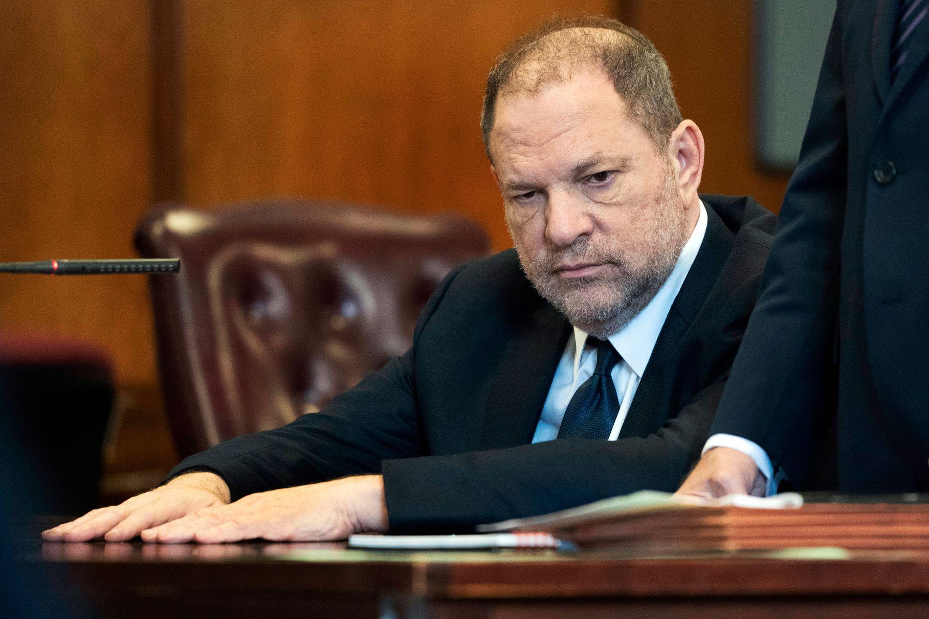 TILTALT: Harvey Weinstein fotografert i et rettsmøte i New York 5. juni.