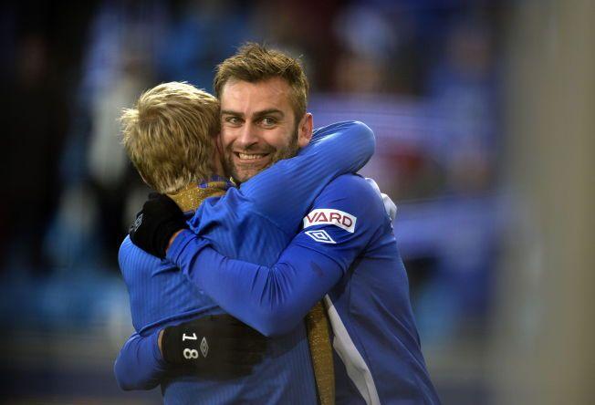 PÅ VEI BORT: Magne Hoseth hadde en av sine største dager på fotballbanen da Molde slo Rosenborg i cupfinalen i fjor. Nå kan han ende i Stabæk.