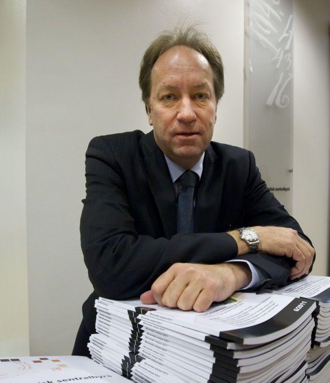 NY SKATT: Hans Henrik Scheel, administrerende direktør i Statistisk Sentralbyrå, leder utvalget som antagelig vil foreslå store skatteendringer.