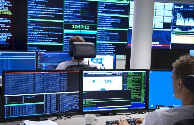 HER LEDES KAMPEN FRA: Fra dette rommet til NorCERT i Nasjonal Sikkerhetsmyndighet ledes nå arbeidet for å finne ut hvor alvorlig konsekvensene av det nylig avdekkede  sikkerhetshullet vil være for norske internettbrukere.