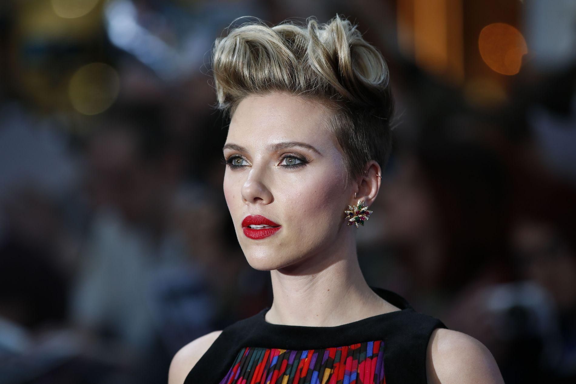 TJENER INN GODE PENGER: Scarlett Johansson var med på å sikre overskudd for Marvel-filmen «Captain America: Civil War»