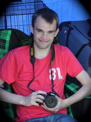 LIVSGLAD: Andreas Goksøyr Christoffersen døde mens han ventet på nytt hjerte. Han ble bare 26 år gammel. Foto: Privat