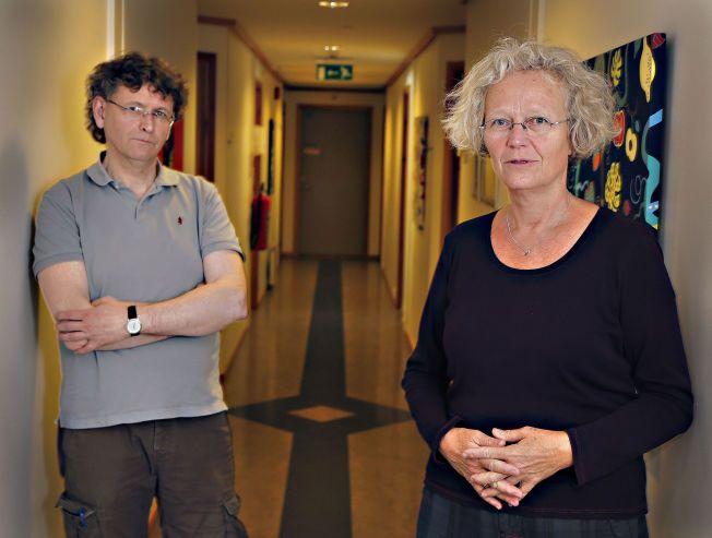 MANGELFULLT: Øystein Grov og Helle Kleive ved ressursenheten V27 mener det er alvorlig at unge overgripere ikke får hjelp.
